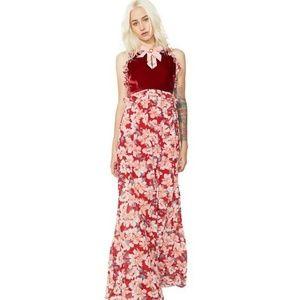 For Love and Lemons Blossom Tank Maxi Dress